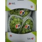 SHINE MUSCAT GREEN GRAPE/2KG/KOREA