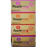 MIXED FRUIT VINEGAR/4 BOXES*6PKTS/TAIWAN