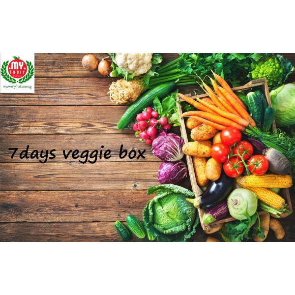 7-DAYS VEGGIE BOX PACKAGE (8 BOXES)
