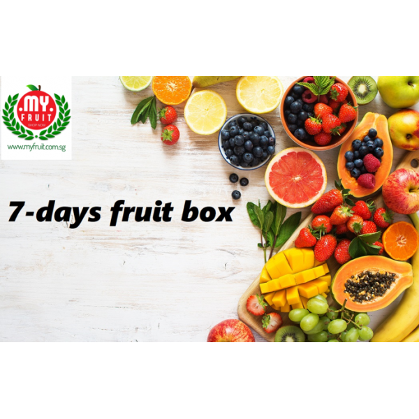 7-DAYS FRUIT BOX PACKAGE (8 BOXES)